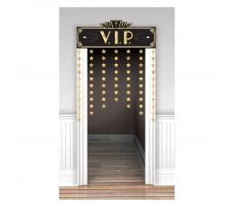 """Дверная декорация """"VIP"""", золотая"""