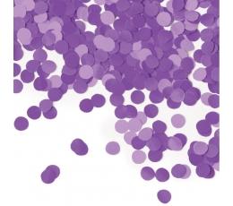 Бумажные конфетти, фиолетовые (14 г)