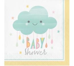 """Салфетки """"Тучкa-Baby Shower"""" (16 шт)"""