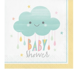 "Salvetes ""Mākonītis-Baby Shower"" (16 gab)"