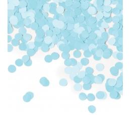 Papīra konfettī, gaiši zili (14 g)
