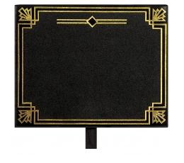 Krītpapīra piespraudes, ar zelta akcentiem (8 gab)