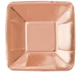 Mini paliktnīšī, rozā zelta krāsā (8 gab/ 12 cm)