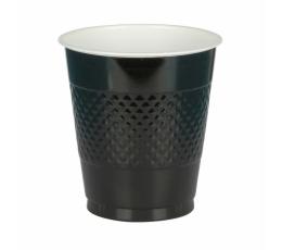 Plastmasas glāzītes, melnas (10 gab/ 355 ml)