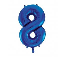 """Folija balons """"8"""", zils (85 cm)"""