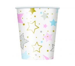 """Glāzītes """"Zvaigznītes"""" (8 gab/266 ml)"""