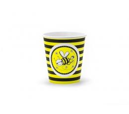 """Glāzītes """"Bitītes"""" (6 gab/ 180 ml)"""
