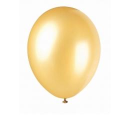 Шарик , перламутровый  золотой (30 см)
