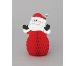 """Galda dekorācijas """"Ziemassvētku vecītis"""" (4 gab)"""