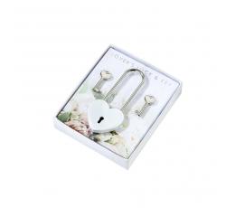"""Dāvana dekorācija """"Mīlestības slēdzis"""" ar atslēgām"""
