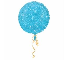 """Folija balons """"Zils spīdums"""" (43 cm)"""