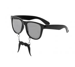 Svētku brilles ar ūsām (1 gab)