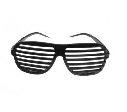 Brilles-žalūzijas, melnas