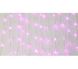 LED gaismiņu vītne galdam, sārta (3 m)