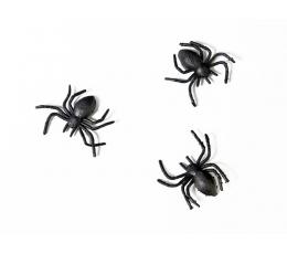 """Plastmasas dekorācijas """"Zirnekļi"""" (10 gab)"""
