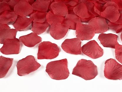 Rožu ziedlapiņas, sarkanas (500 gab)