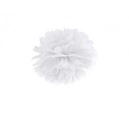 Papīra bumba, balts (25 cm)