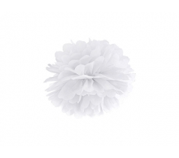 Помпон, белый (25 см)