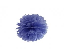 Pūkainis, tumši zils (25 cm)