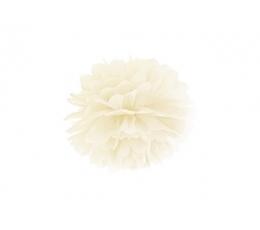 Помпон, кремого цвета (25 см)