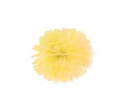 Pūkainis, dzeltens (25 cm)