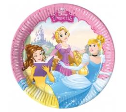 """Šķīvīši """"Disneja princeses"""" (8gab/ 20cm)"""
