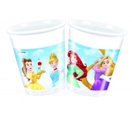 "Plastmasas glāzītes ""Disneja Princeses"" (8 gab/ 200 ml)"