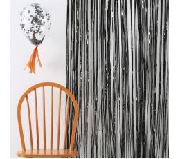Folija aizkari, melni (245 x 91 cm)