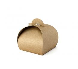 Dāvanu kastītes, kraft (10 gab)