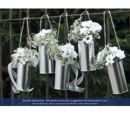 Декоративные банки, жестянки - серебряные(5 шт)