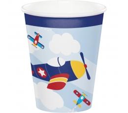 "Glāzītes ""Lidmašīnas"" (8 gab/ 266 ml)"