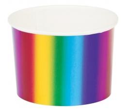 Trauciņi uzkodām, spīdīgi, varavīksnes krāsās (6 gab)