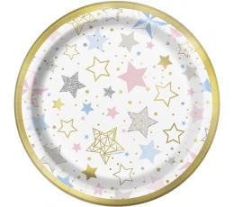 """Šķīvīši """"Zvaigznītes"""" (8 gab/ 18 cm)"""