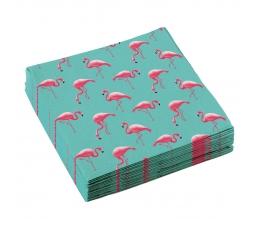 "Салфетки ""Розовые фламинго"" (20 шт)"