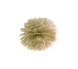 Pūkanis, zelta krāsā (25 cm)