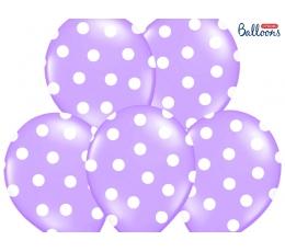 Balons, lillā -punktains (30 cm)