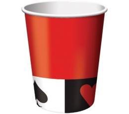 """Glāzītes """"Kāršu kava"""" (8 gab/266 ml)"""