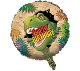 """Folija balons """"Dinozaurs Dins"""" (45 cm)"""