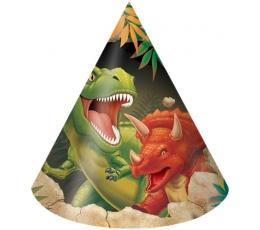 """Cepurītes """"Dinozaurs Dins"""" (8 gab)"""