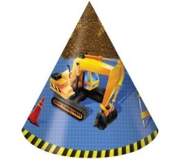 """Cepurītes """"Mazais celtnieks"""" (8 gab)"""