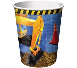 """Glāzītes """"Mazais celtnieks"""" (8 gab/266 ml)"""