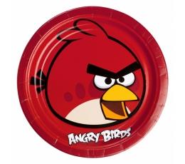 "Šķīvīši ""Angry Birds"" (8 gab/23 cm)"