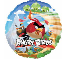 """Folija balons """"Angry Birds"""" (43 cm)"""