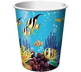 "Glāzītes ""Okeāna noslēpums"" (8 gab/266 ml)"