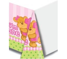 """Galdauts """"Meitenes dzimšanas diena ar lācīti"""" (137x274 cm)"""