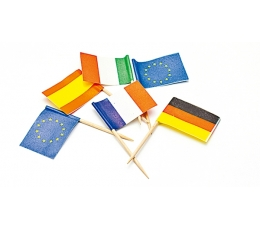 """Irbulīši-karodziņi """"Valstis"""" (50 gab)"""