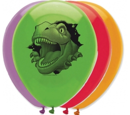 "Baloni ""Dinozaurs Dins"" (6 gab/ 30 cm)"