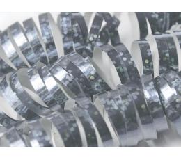 Hologrāfiskas spirāles, sudraba (18 gab/ 3,8 m)
