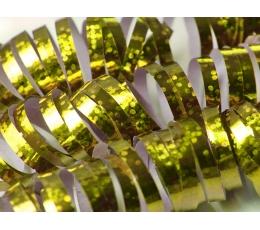 Hologrāfiskas spirāles, zelta (18 gab / 3,8 m)