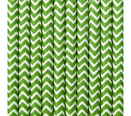 Salmiņi, zaļi zigzagi (10 gab)